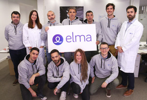 El equipo de la start-up Elma Care.