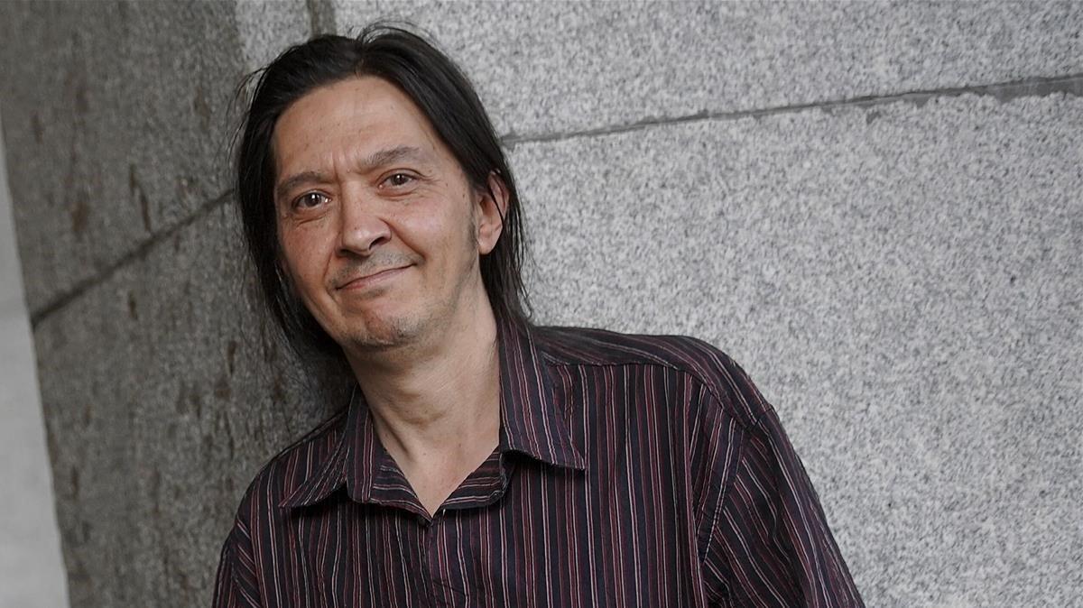 El escritor Santiago Lorenzo.