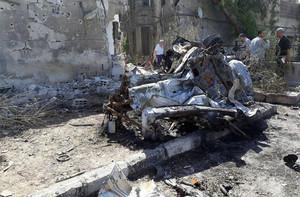 Efectos de la guerra en Siria.