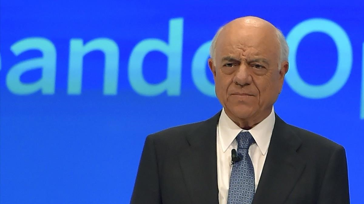 El expresidente del BBVA Francisco González, en marzo del 2018.