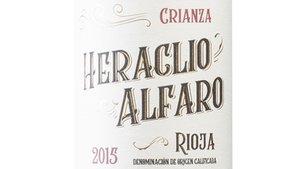 Heraclio Alfaro Crianza 2015, Terras Gauda a la Rioja