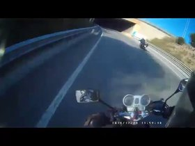 Vídeo | Identificat un motorista temerari a Girona gràcies a la col·laboració ciutadana