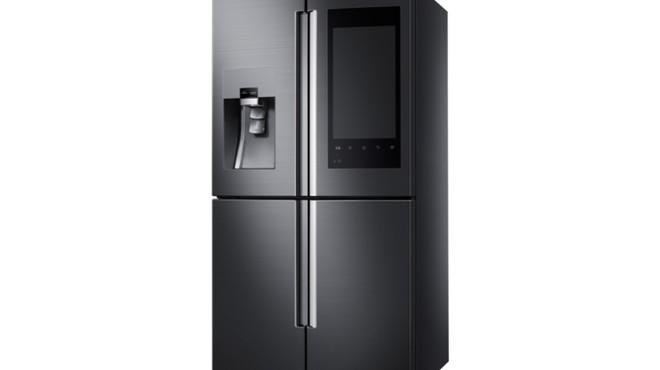 CES 2016: Samsung presenta un frigorífico con pantalla táctil para hacer la compra a distancia