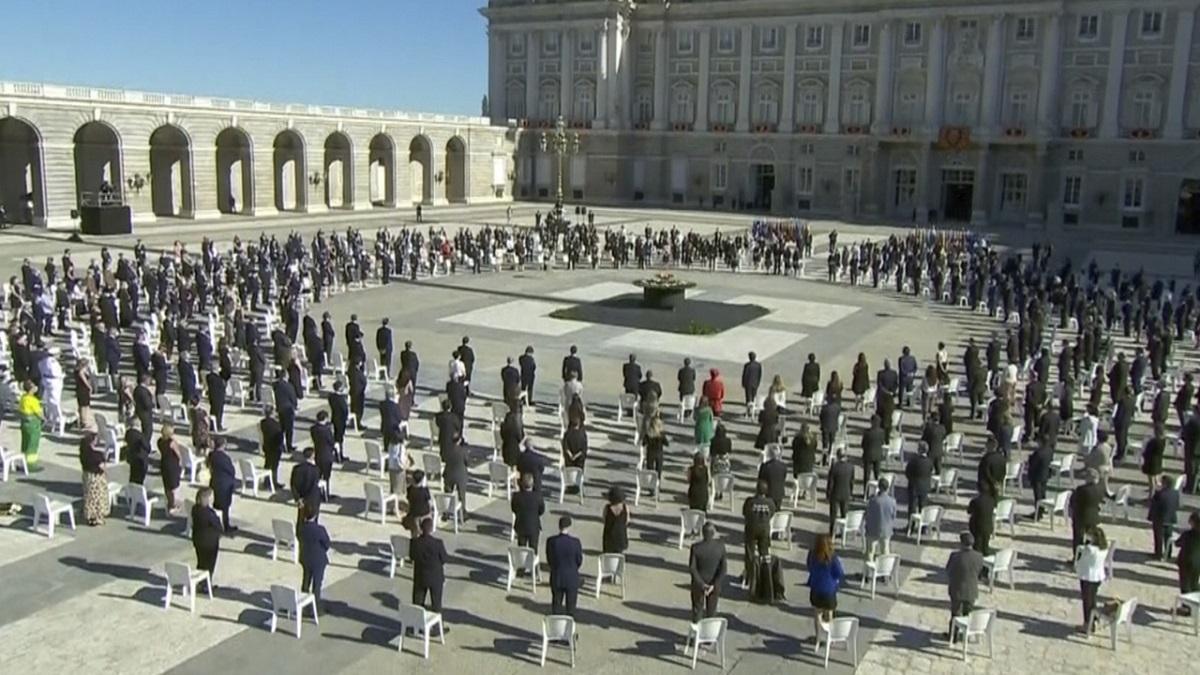 Funeral de Estado: Unidos en el recuerdo a las víctimas del covid-19