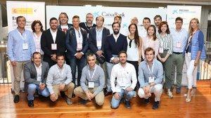 Ganadores y finalistas de la última edición de los Premios EmprendedorXXI.