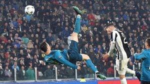 Hace exactamenteun año, en Turín, Cristiano Ronaldo marcó uno de los goles más espectaculares con la camiseta del Real Madrid.