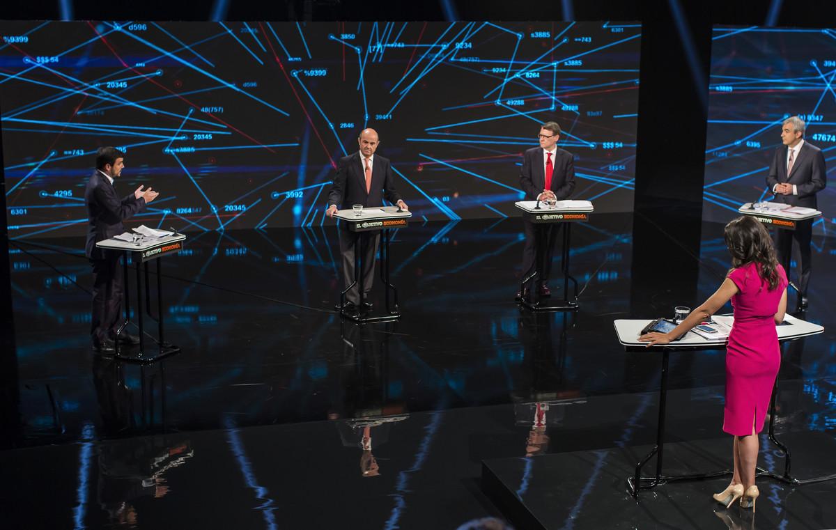 Imagen del debate sobre economía de 'El objetivo' de Ana Pastor.