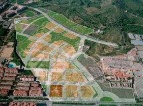 Imagen de las parcelas en venta del sector Llevant, en VIladecans
