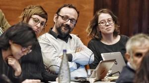 La CUP exigeix a Mas que deixi de representar el procés a l'estranger