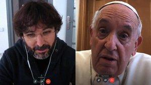 """La confesión del papa Francisco ante Jordi Évole: """"A veces he dudado de la existencia de Dios"""""""