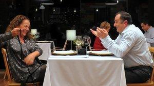 Josefa y Pietro en 'First Dates'.
