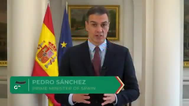 Sánchez demana al G-20 l'accés universal a les vacunes contra la Covid