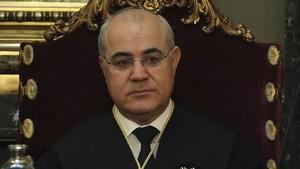 El juez del Tribunal Supremo Pablo Llarena.