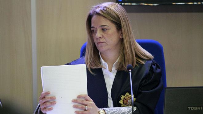 La jueza Samantha Romero apuesta por la permanencia de Manos Limpias en el caso Nóos.