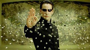 Keanu Reeves, en Matrix.