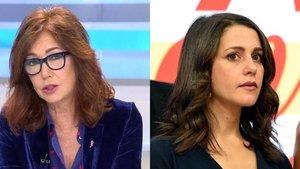 """Ana Rosa apoya que Inés Arrimadas se postule como líder de Ciudadanos: """"Estoy harta de ver a seis tíos"""""""