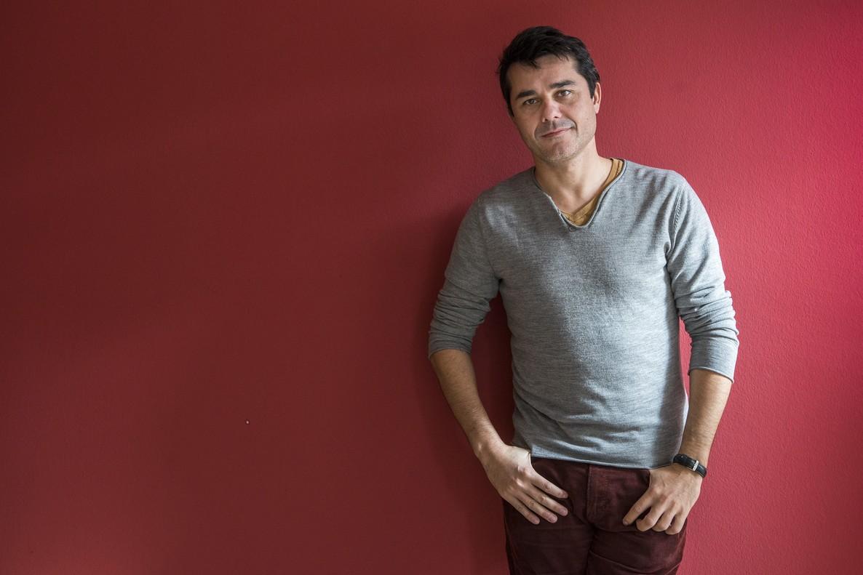Laurent Binet, en Barcelona.