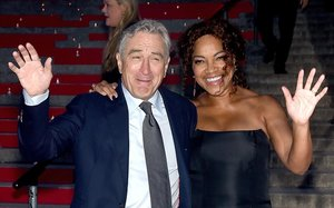 Robert de Niro y Grace Higtower, en abril del 2015.