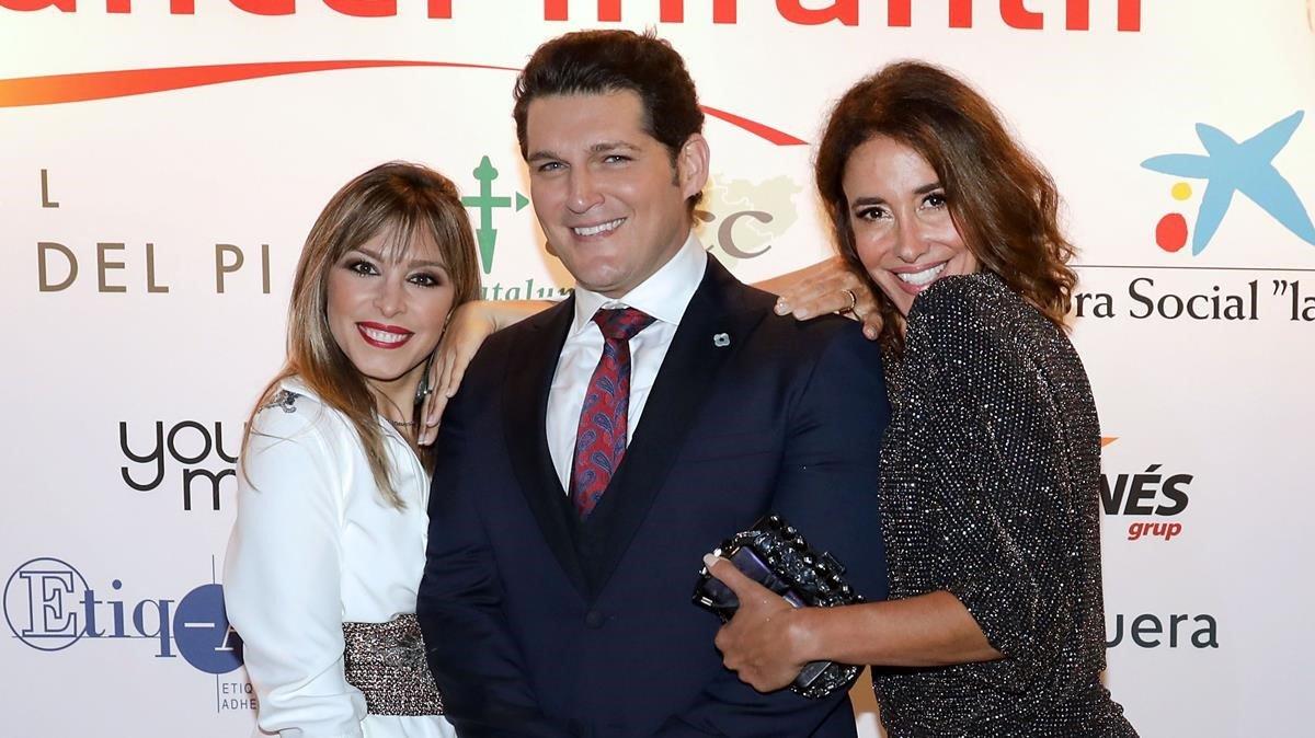 Gisela i Manu Tenorio, en una gala solidària contra el càncer infantil