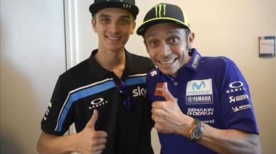 """Luca Marini: """"Antes, solo era el hermano de Rossi"""""""