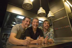 Los hermanos Roca, en El Celler de Can Roca, el pasado junio.