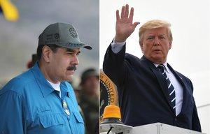 Nicolás Maduro vuelve a arremeter contra Trump y lo compara con Hitler.