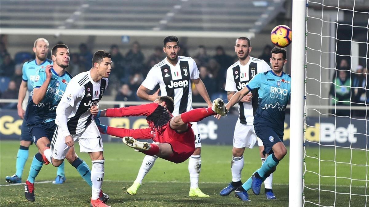 Ronaldo salva la Juve de la derrota a Atalanta (2-2)