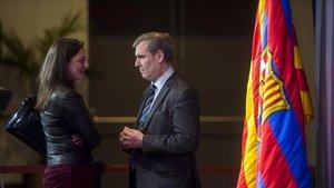Maria Teixidor, l'exdirectiva del Barça, s'acomiada sense fer soroll