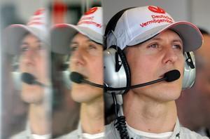 Michael Schumacher, en un Gran Premi d'Austràlia, el març del 2012.