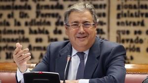 El ministro de Interior Juan Ignacio Zoido, en una imagen del 18 de enero.