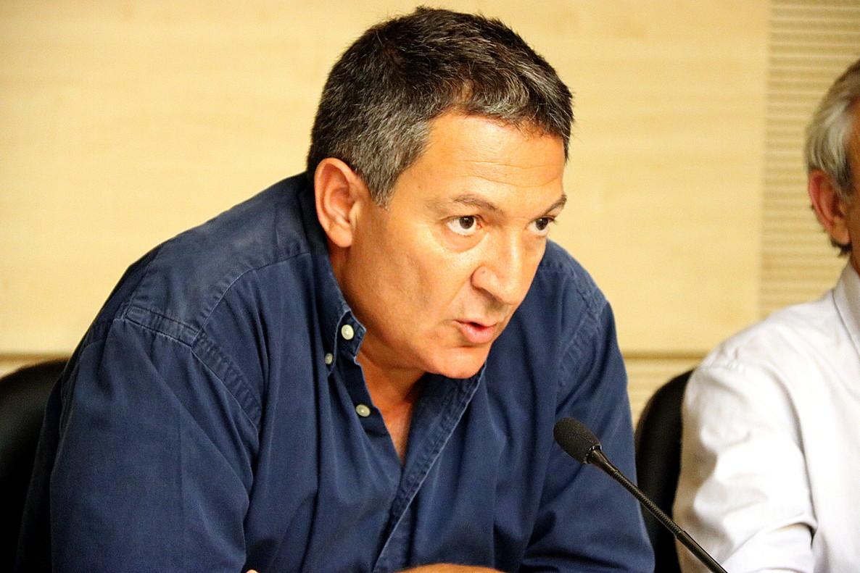 Miquel Samper, nuevo 'conseller' de Interiory exprimer teniente de alcalde con el socialista Jordi Ballart, en una imagen de archivo.