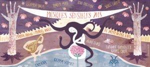 Cartel anunciador del ciclo de conciertos Músiques sensibles.