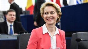 La nueva presidenta de la Comisión Europea,Ursula von der Leyen