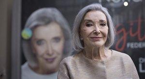 Núria Espert, durante la presentación de 'Romancero gitano' en el Teatre Romea, el 7 de enero.