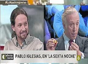 En el artículo, el periodista Eduardo Inda reprocha a Podemos haber apoyado a Joseba Asirón (EH Bildu) como alcalde de Pamplona