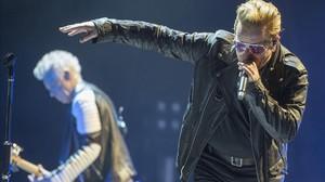 U2, en el Palau Sant Jordi en el 2015.