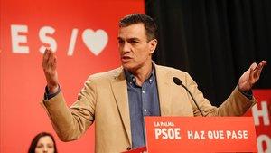 Sánchez apela a los votantes de Podemos y de Ciudadanos