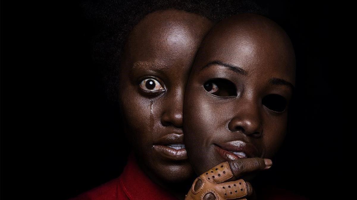 Lupita Nyongo, en el cartel de Us.