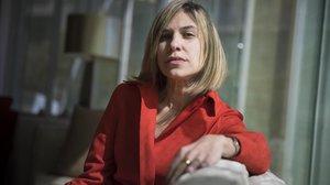 La periodista venezolana Karina Sainz Borgo, en Barcelona.