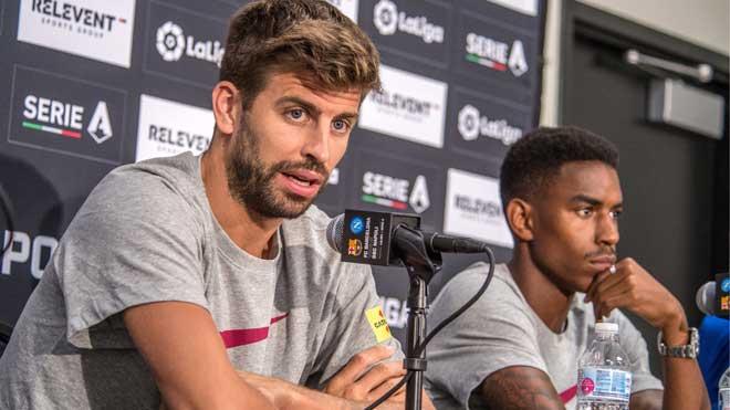 Piqué dice que es Neymar quien debe decidir sobre su regreso al Barcelona.