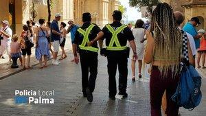 Policía de Palma.