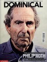 La portada del DOMINICAL que publicó la entrevista a Philip Roth