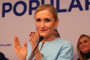 La presidenta de la Comunidad de Madrid, Cristina Cifuentes, en la última reunión del PP de Madrid.