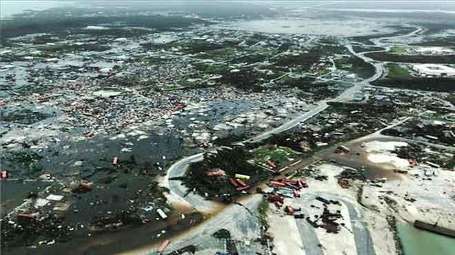 Primeres imatges de la devastació de les Bahames després del 'Dorian'