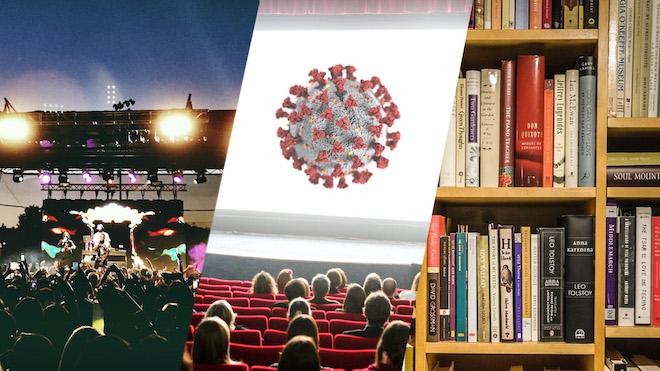 Qué pasará con la Cultura tras el Covid-19: ¿estrenos en internet, conciertos…?