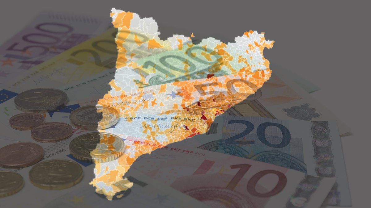 Consulte el nivel de renta de cada municipio
