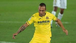 Cazorla, en un partido del Villarreal.