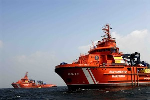 Imagen de archivo de buques de Salvamento Marítimo.