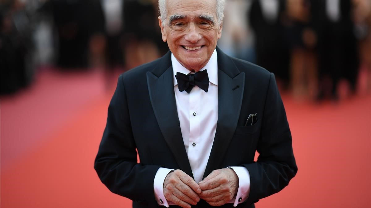 Scorsese, el martes en Cannes, en la inauguración del festival