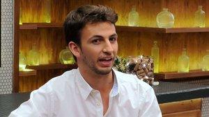 Sergio en el restaurante de 'First Dates'.